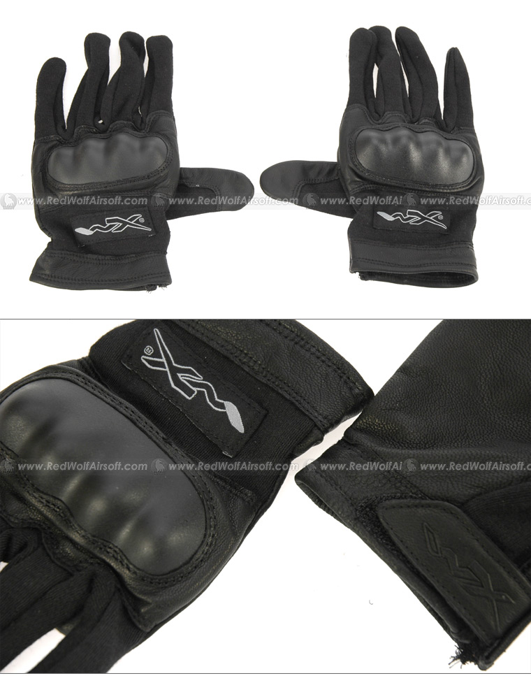 Wiley X Black Combat Assault Glove - Large