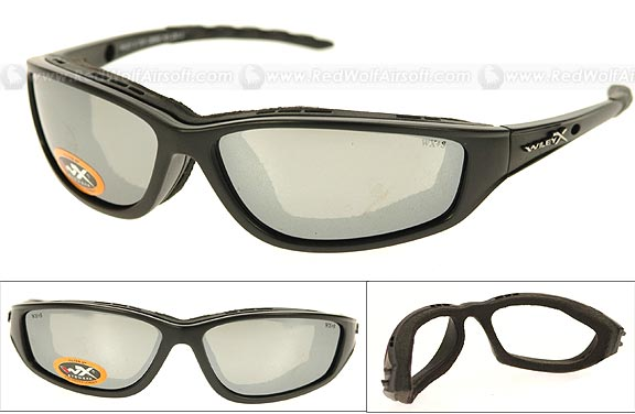 Wiley X Glasses - Top Jimmie (Polarized Smoke/Matte Black Frame) <font color=red>(Export Only)</font>