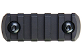 Z-Parts M-Lok Aluminum Rail (5 Slots) - Black