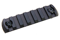 Z-Parts M-Lok Aluminum Rail (7 Slots) - Black