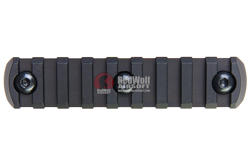 Z-Parts M-Lok Aluminum Rail (9 Slots) - Black
