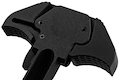 Z-Parts CNC Aluminum URG-I Airborne Charging Handle for Viper / Systema PTW / WE / VFC (Umarex) M4 GBBR - Black