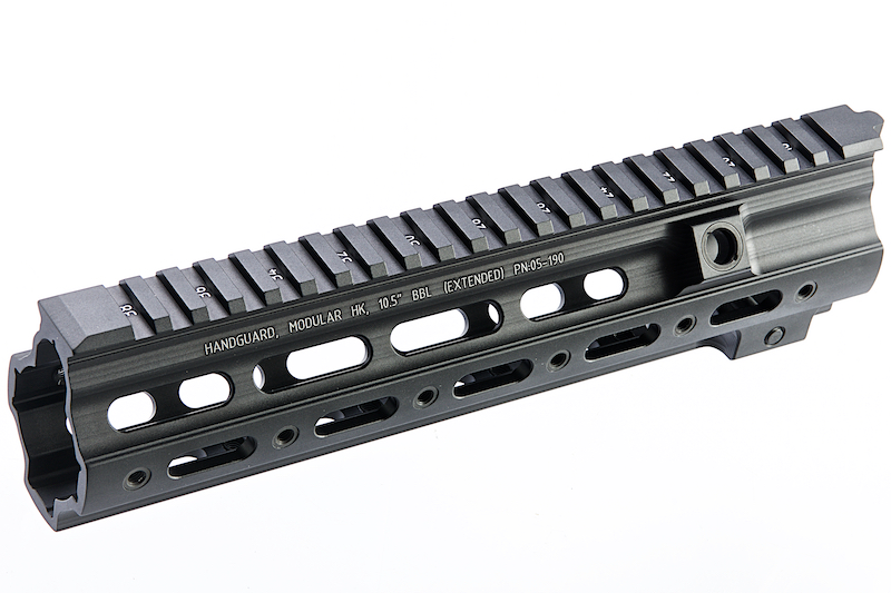 Z-Parts CNC Aluminum10.5 inch 416 SMR handguard for Systema (from Z-parts) / VIPER / Umarex (VFC) 416 AEG, GBB - Black