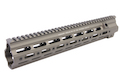 Z-Parts CNC Aluminum 14.5 inch 416 SMR handguard for Systema (from Z-parts) / VIPER / Umarex (VFC) 416 AEG, GBB  - Midnight Green