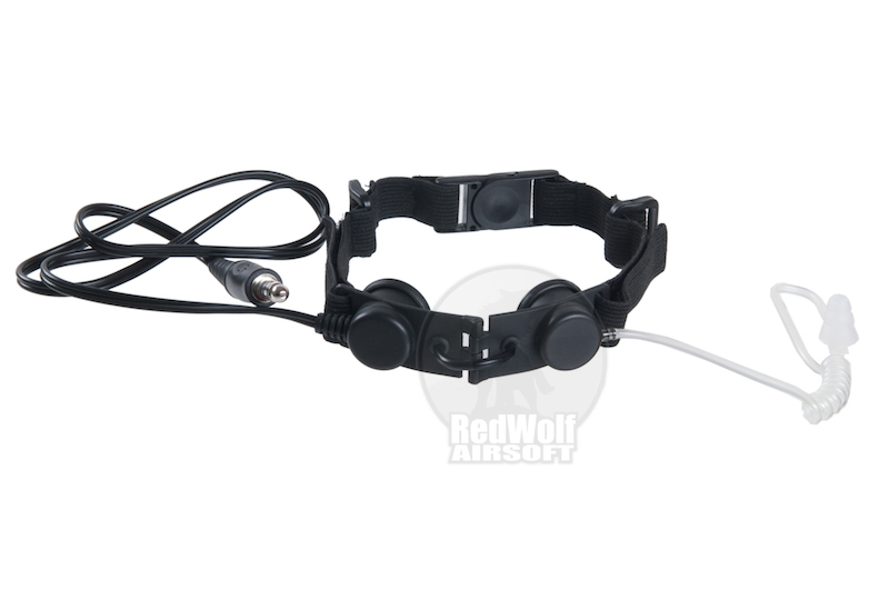 Z Tactical Tactical Throat Mic - Black