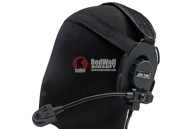 Z Tactical Bowman III Headset with Bright Mic - Black