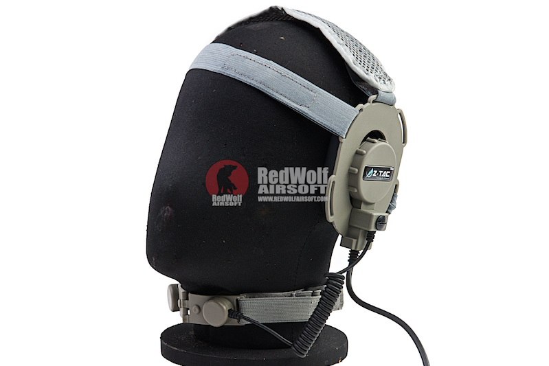 Z Tactical Bowman III Headset with Throat Mic - FG