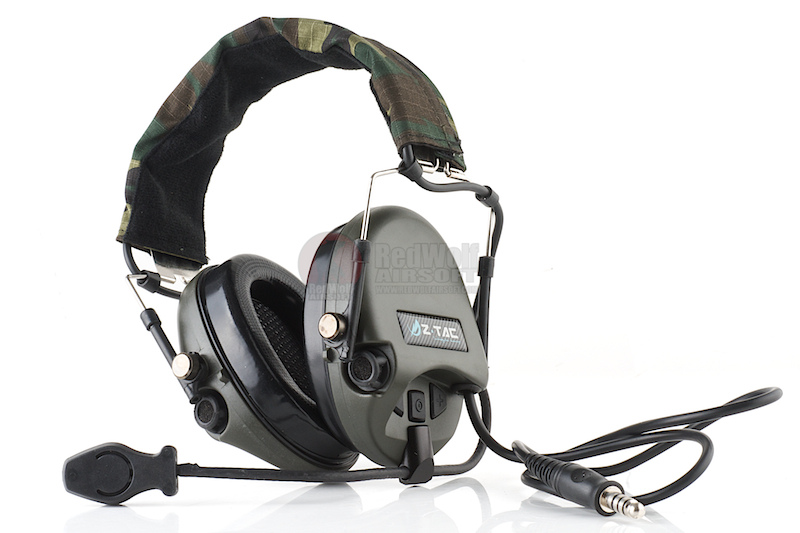 Z Tactical zTEA Hi-Threat Tier 1 Headset