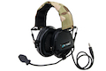 Z Tactical zTEA Hi-Threat Tier 1 Headset  - Black