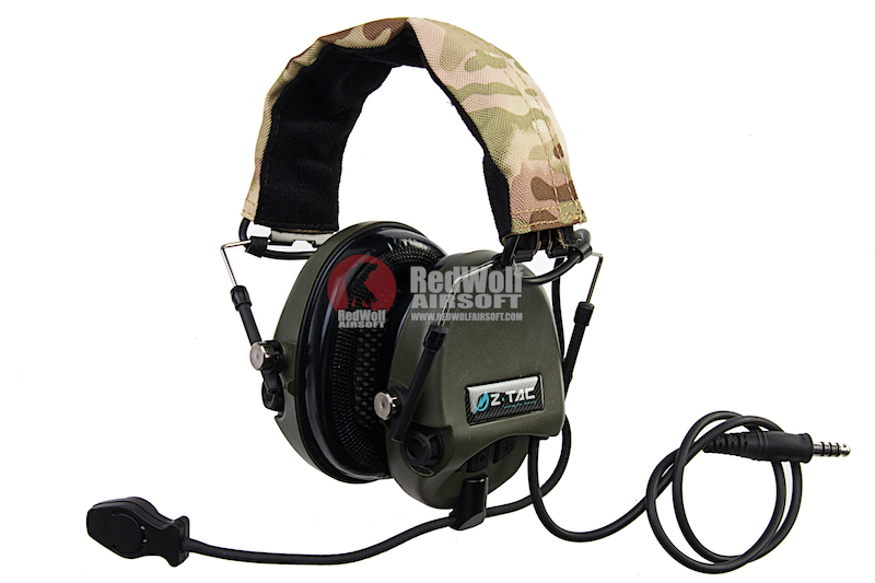 Z Tactical zTEA Hi-Threat Tier 1 Headset  - FG