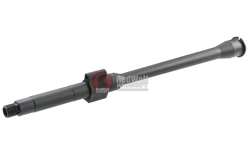Z-Parts MK16 DD GOV 14.5inch Steel Outer Barrel for GHK M4 GBBR - Black