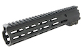 Z-Parts MK16 M-Lok 10.5 inch Rail for GHK M4 GBBR Series (w/ Barrel Nut) - Black