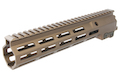 Z-Parts MK16 M-Lok 10.5 inch Rail for GHK M4 GBBR Series (w/ Barrel Nut) - DDC
