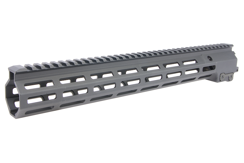 Z-Parts MK16 M-Lok 15 inch Rail for GHK M4 GBBR Series (w/ Barrel Nut) - Black