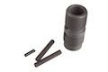 Z-Parts 10.5 inch CNC Steel Outer Barrel Set for KWA / KSC M4 GBB