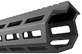Z-Parts MK16 M-Lok 13.5 inch Rail for Tokyo Marui M4 MWS GBBR Series (w/ Barrel Nut) - Black