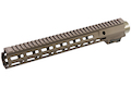 Z-Parts CNC Aluminum 13.5inch Handguard for Tokyo Marui SOPMOD M4/ M16 AEG (with MK16 Barrel Nut) - DDC