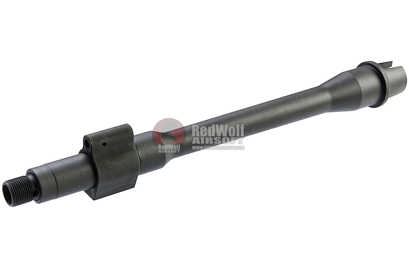 Z-Parts MK16 DD GOV 10.3inch Steel Outer Barrel for Tokyo Marui M4 MWS GBBR - Black