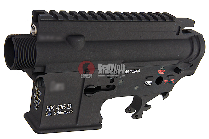 Z-Parts Aluminum Receiver Set for Systema PTW 416 AEG - Black