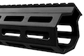 Z-Parts MK16 M-Lok 9.3 inch Rail for Systema PTW M4 Series (w/ Barrel Nut) - Black