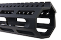 PTS ZEV Wedge Lock 14 inch Handguard for M4 AEG/ GBB/ PTW  Series - Black
