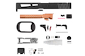 PTS ZEV Prizefighter Slide Kit for Tokyo Marui Model 17 (RMR) - Black