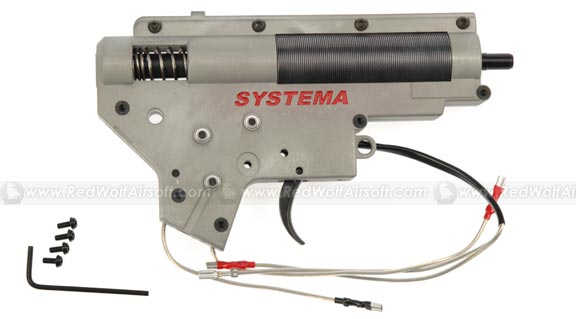 Systema Mecha-Box (Gearbox) 1J (High Speed) for Marui M4A1 / M4RIS/ S-System (FREE SHIPPING)