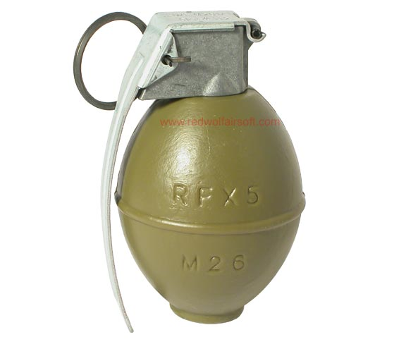 G&G M26 Hand Grenade BBs Bottle (300rd) <font color=red>(Clearance)</font>