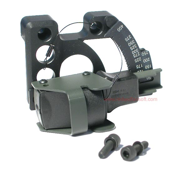 G&P Reflex Quadrant Optical Sight for M203 Launcher