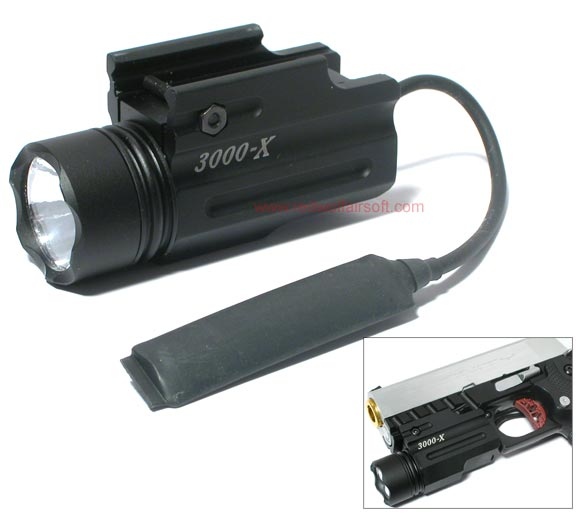 G&P 3000X Flashlight