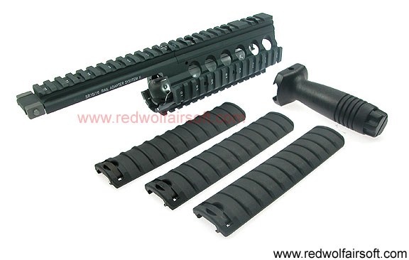 G&P RAS II Long Version (Handguard Kit) For Marui M16 Series