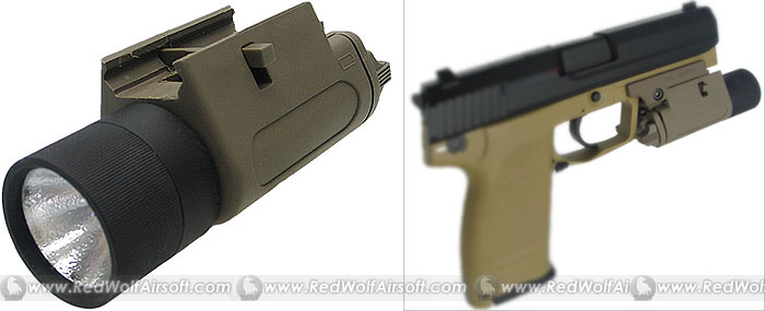 King Arms M3 Tactical Illuminator (Tan)