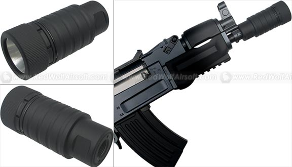 King Arms Krinkov Style Flash Hider (Lightweight, 14mm CCW)