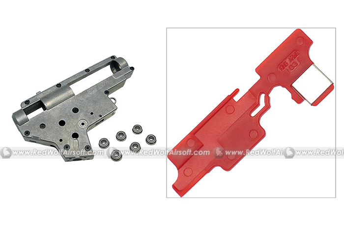 King Arms Ver.2 7mm Bearing GearBox with G3 Selector Plate