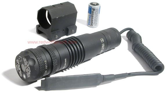 King Arms Visible Green Laser Sight w/ 25mm QD mount