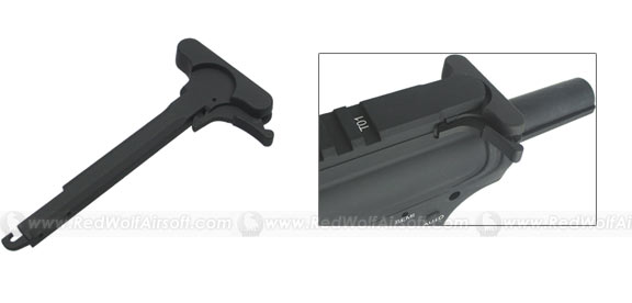 King Arms Charging Handle with Big Latch for M4 Series