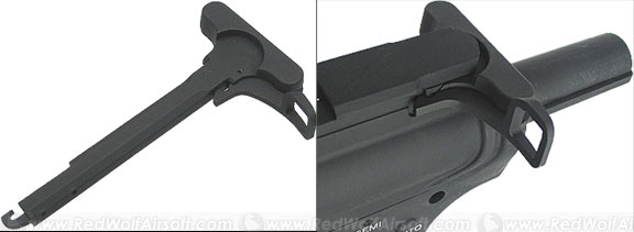 King Arms Charging Handle with Tactical Latch for M4 Series