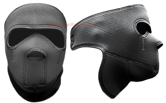 King Arms Neoprene Mask - BLACK (Full)