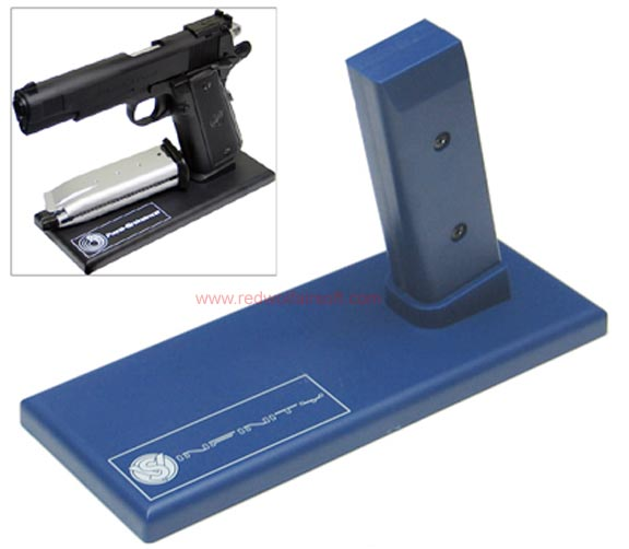 King Arms Display Stand for Pistol -SV/SV Infinity - Blue