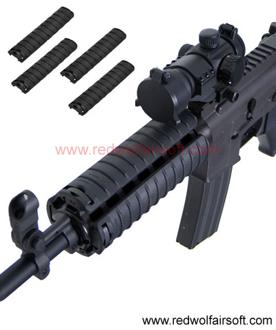 King Arms Rail Cover (BK)