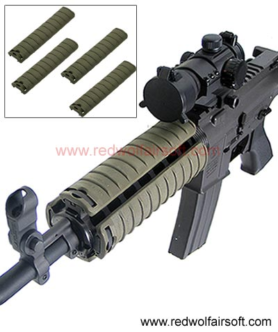King Arms Rail Cover (OD)