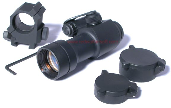 King Arms 1X30 Reflex Red Dot Sight with Comp Mount
