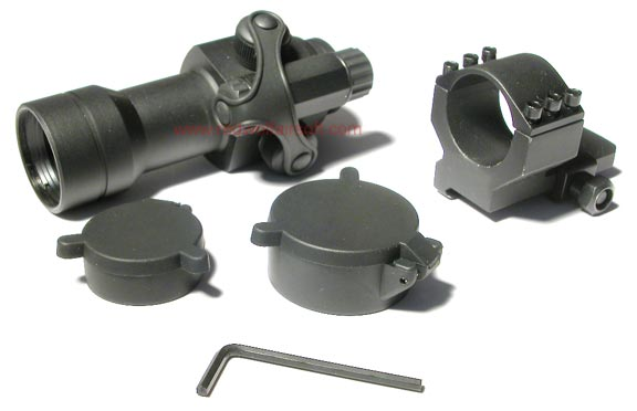 King Arms Red Dot Sight + L Shaped Mount