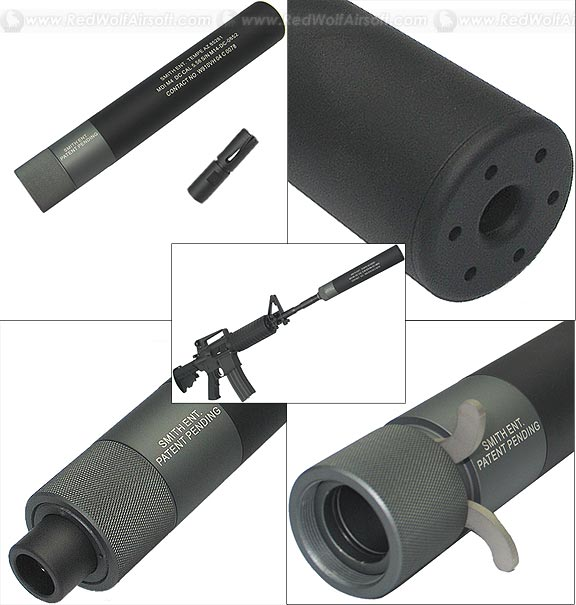 King Arms M4 DC Silencer with Flash Hider