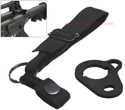 King Arms Metal Rear Sling Adaptor for M4 Series (Type A)