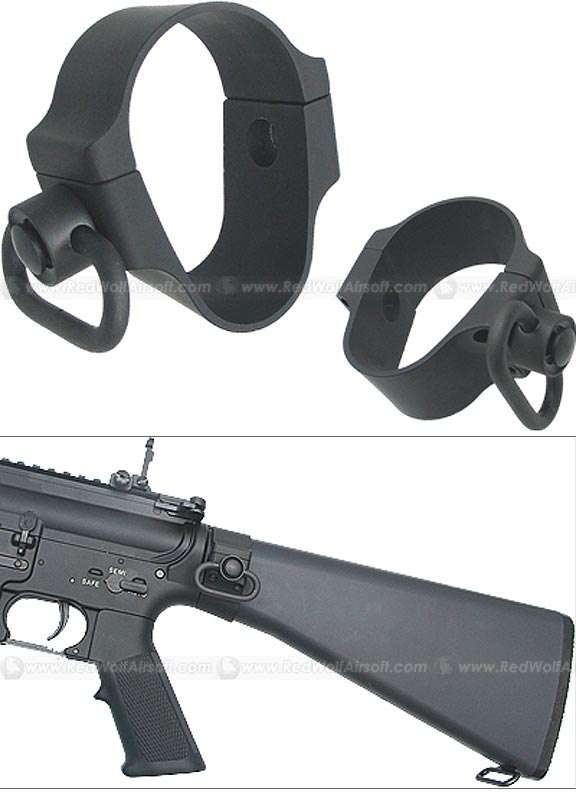 King Arms Sling Mount for M16A2 Fixed Stock