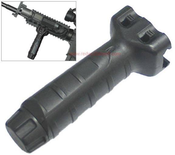 King Arms Vertical Fore Grip - Black<font color=red> (Clearance) </font>