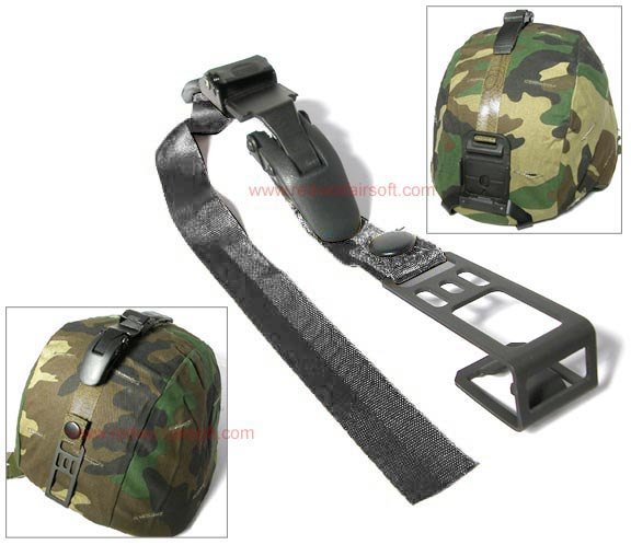 G&G Retention Strap for NVG Mount (Black) <font color=yellow>(Clearance)</font>