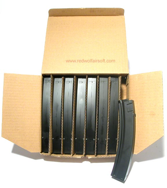 MAG NP5 90rd Plastic Magazine Box Set (8 Pack)