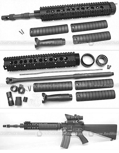 G&P SPR/A RIS Kit for Western Arms (WA) M4 series